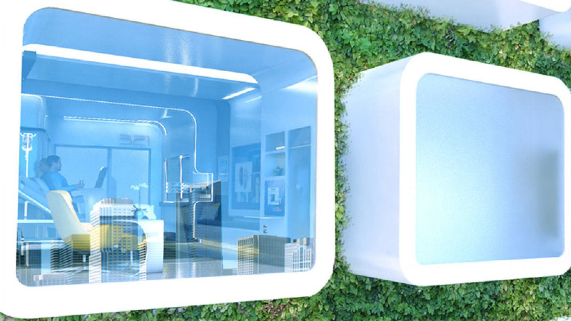 Here's What the Hospital Room of the Future Looks Like