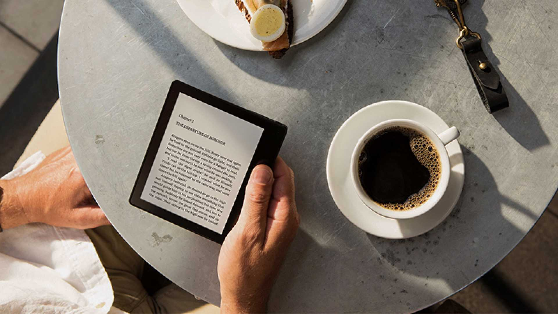 The Kindle Oasis is a great e-book reader for people who love e-readers