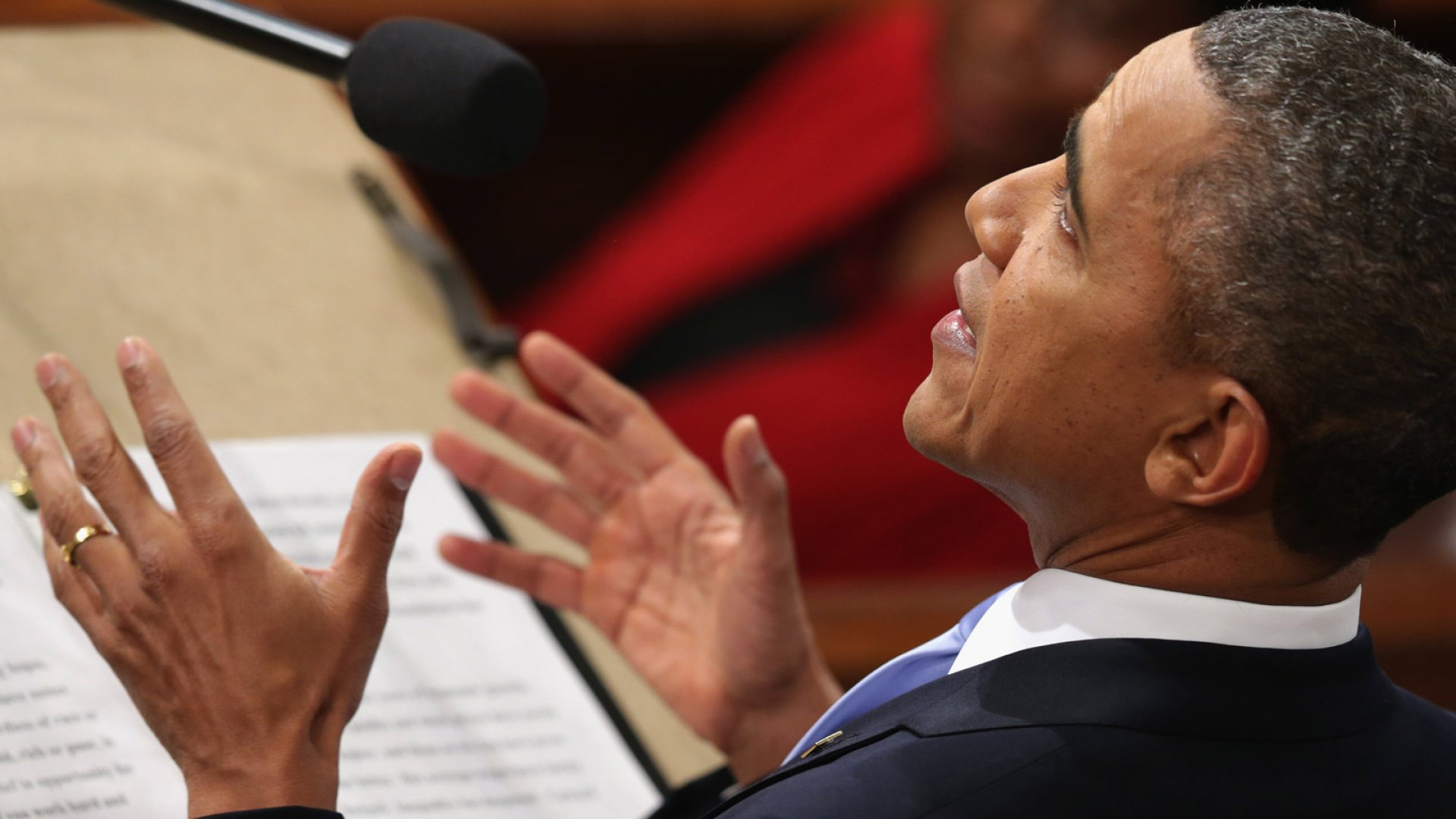 U.S. President Barack Obama delivers the State of the Union address to a joint session of Congress in the House Chamber at the U.S. Capitol on January 28, 2014 in Washington, DC.
