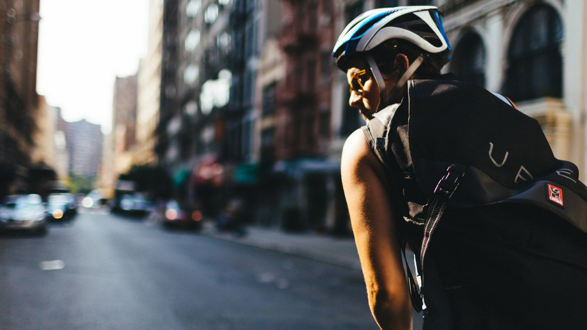 UberRush uses bicycle messengers in New York City, drivers in cars in Chicago, and both in San Francisco, to deliver meals and packages.