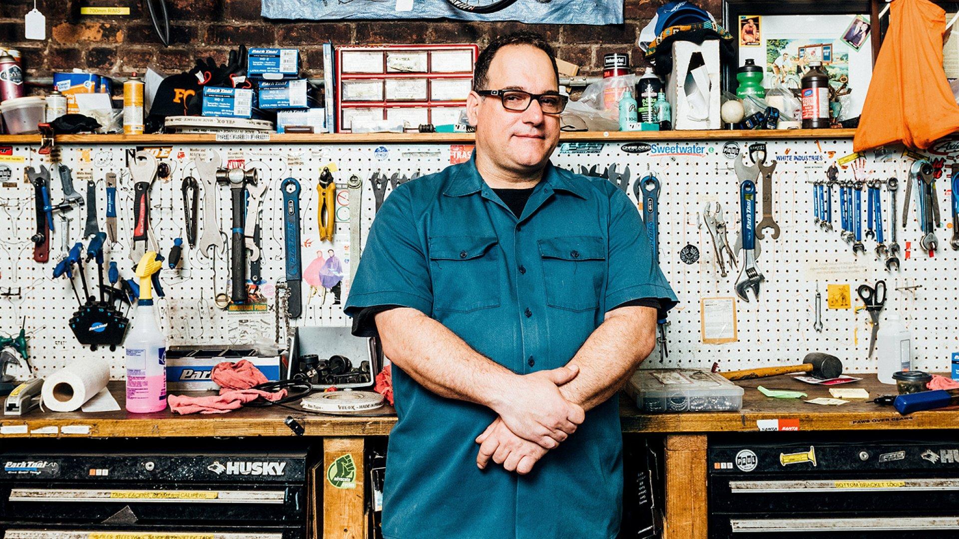 Joe Nocella, founder of 718 Cyclery.