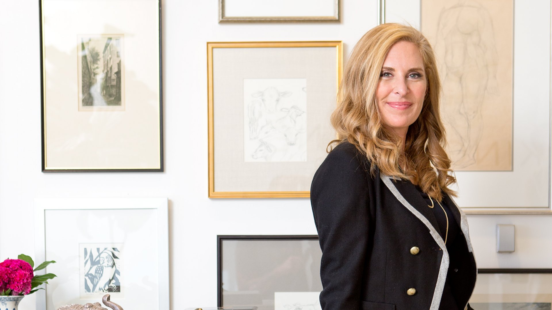 Inspired by clothing flash sales, Susan Feldman (above) and Alison Pincus translated the concept to home furnishings and accessories.