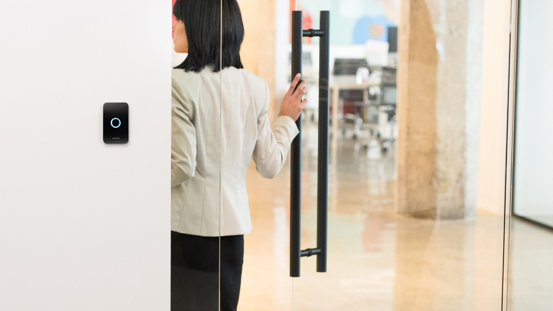 Openpath's technology, intended for emergency situations, enables remote locking and unlocking of every door in your office.
