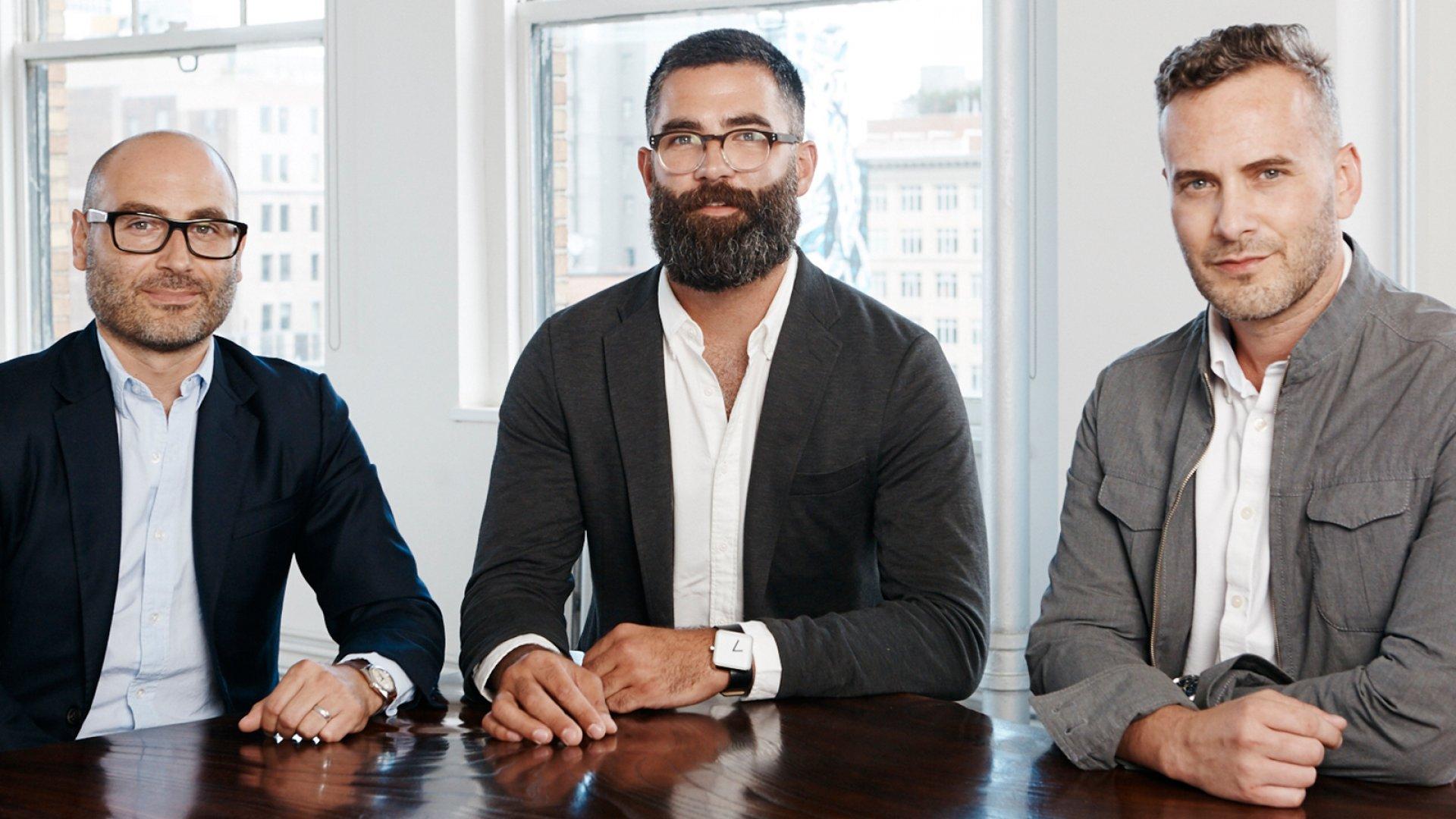 Othr co-founders Dean Di Simone, Evan Clabots, and Joe Doucet.