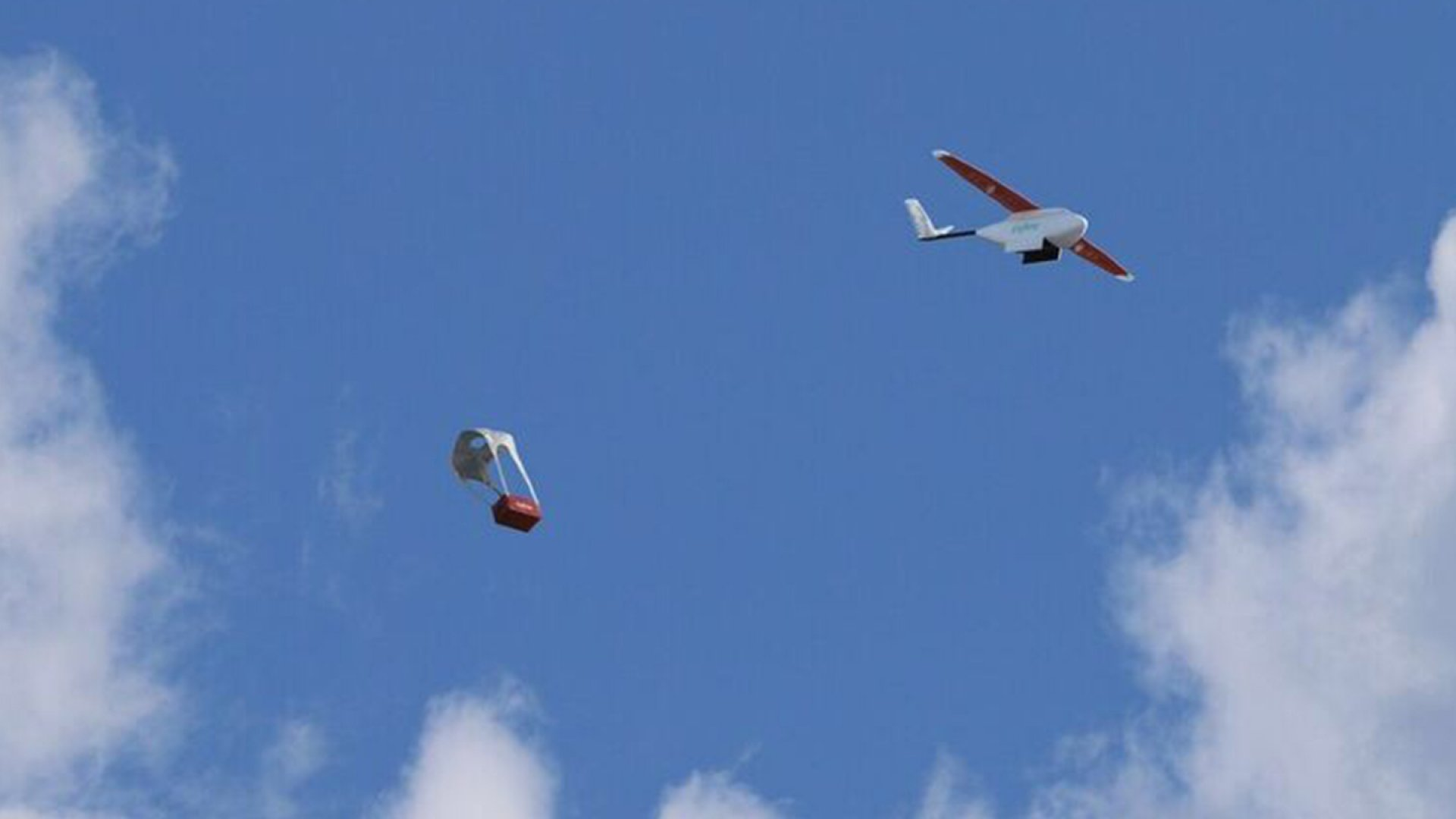 San Francisco-based drone company Zipline has an autonomous system to airdrop supplies to patients in need.
