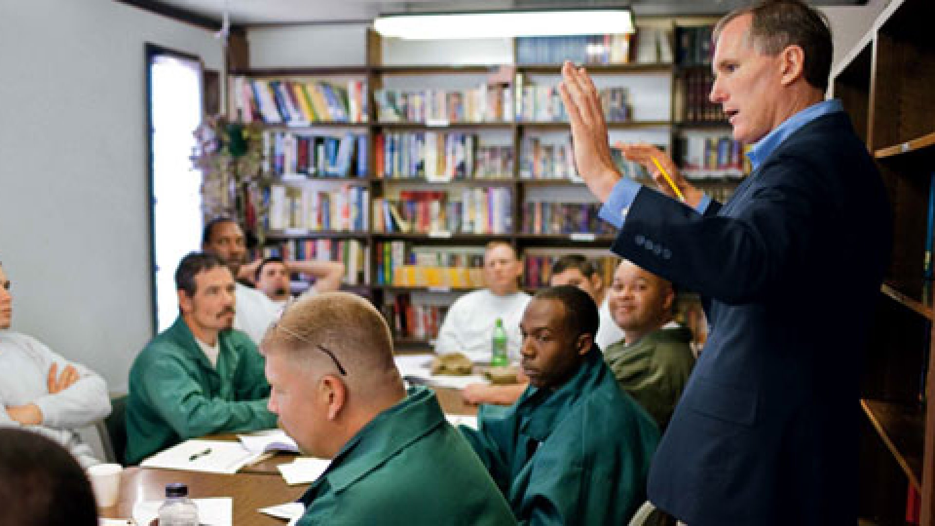 CEO Passions: Teaching Prisoners