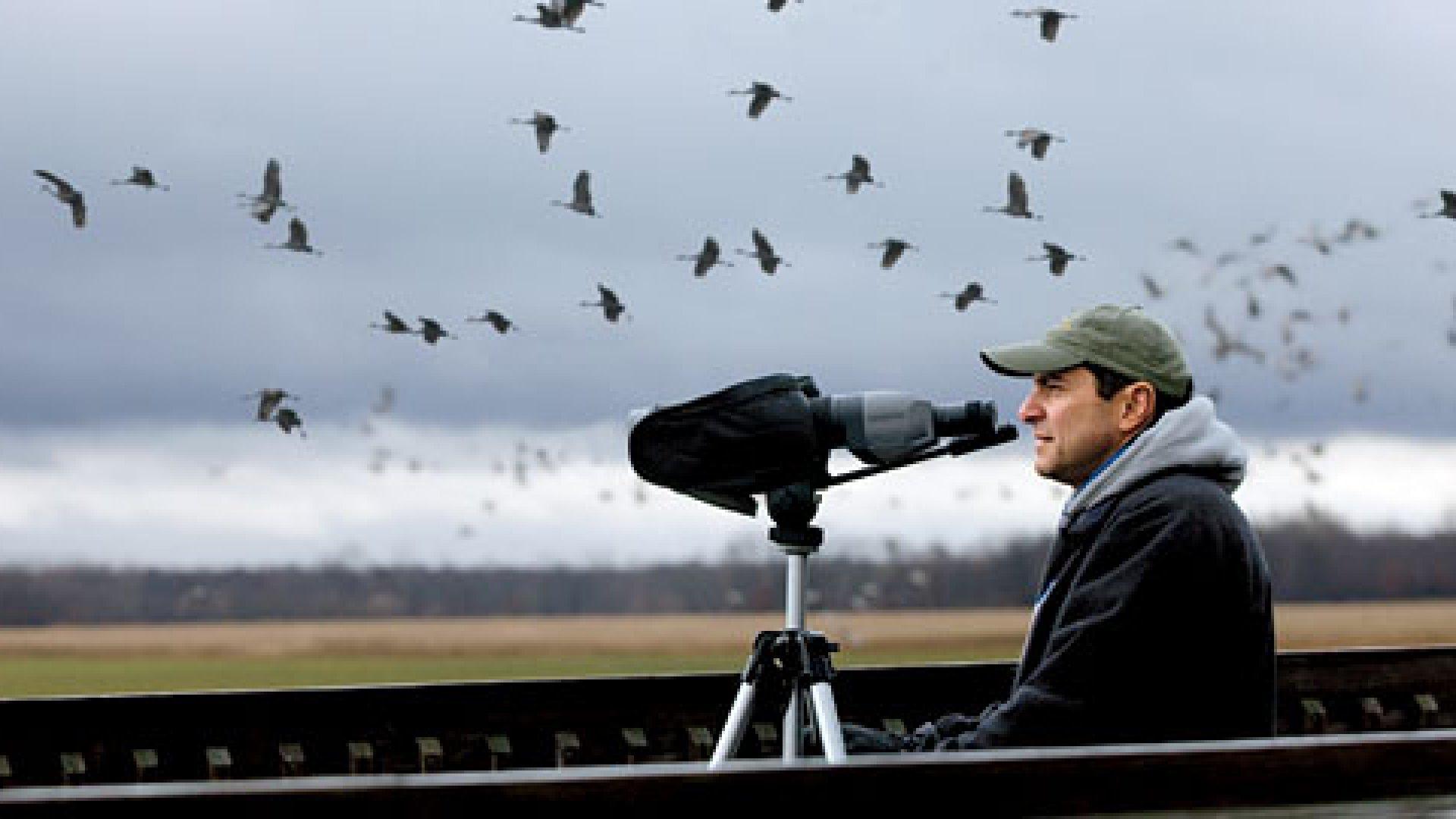 Passions: Vernon LaVia, Bird Watcher