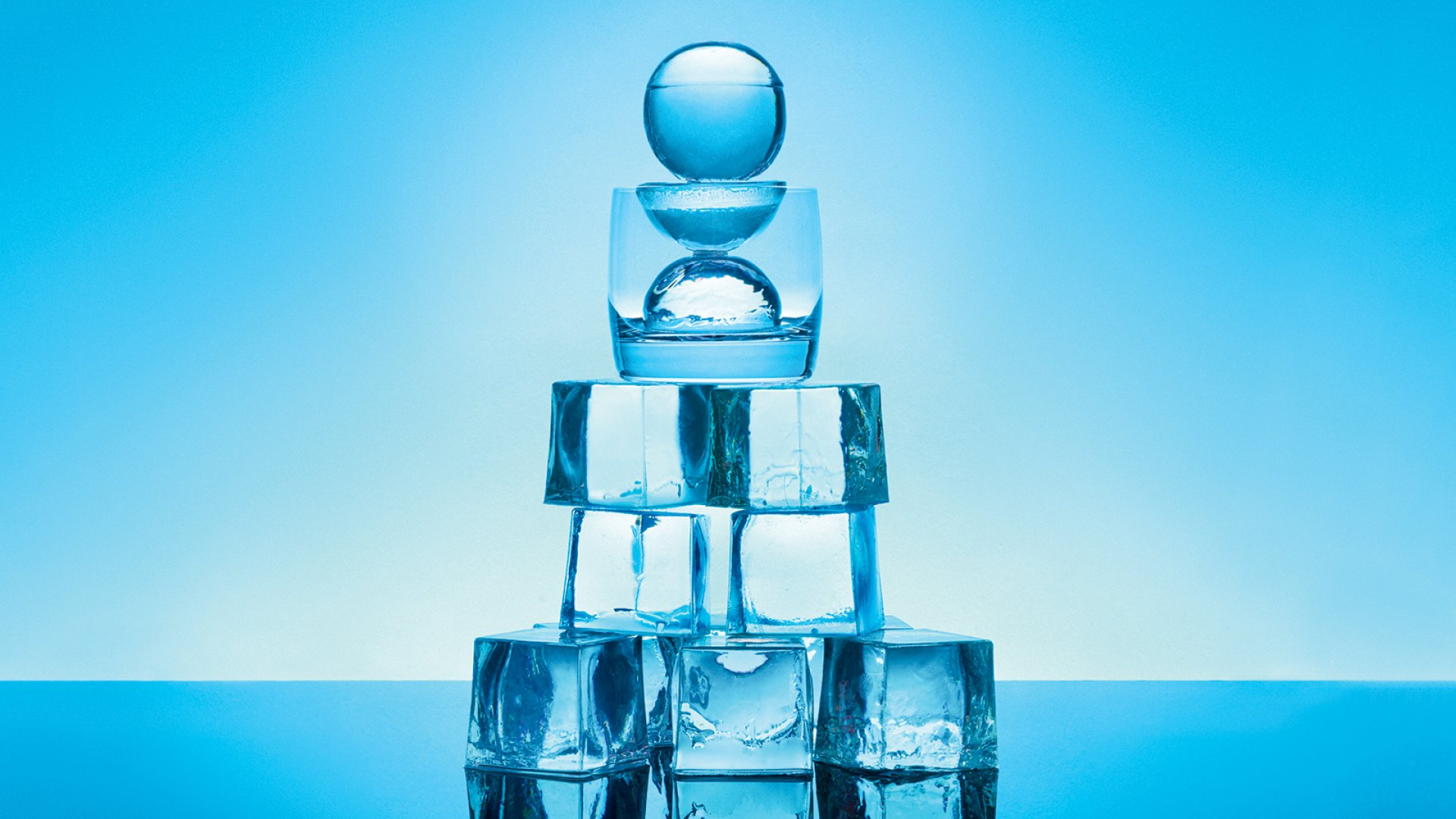 Spheres, blocks, spears, and crushed pieces are just some of the shapes Peak Ice Works arms home mixologists with.