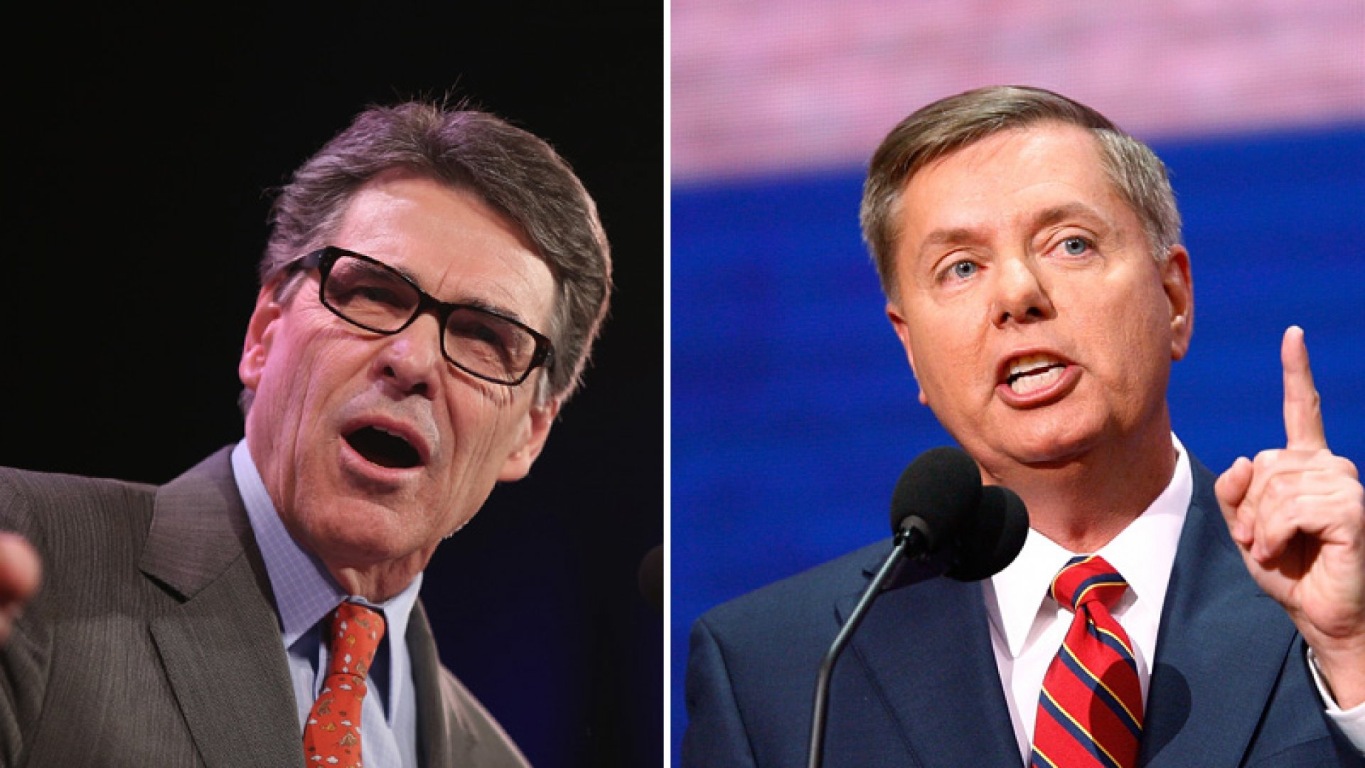 Former Texas Governor Rick Perry and Senator Lindsey Graham of South Carolina are expected to announce campaigns for the presidency in June.