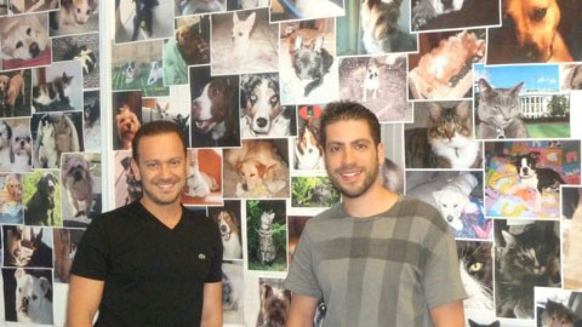 PetFlow founders Alex Zhardanvosky and Joe Speiser