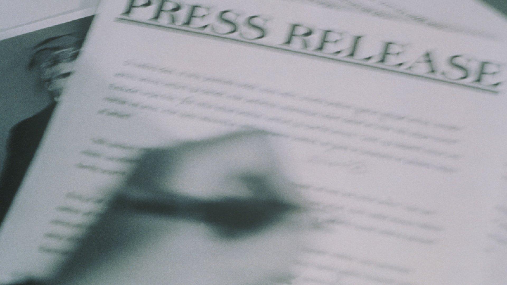 5 Reasons the Press Release Isn't Dead Yet