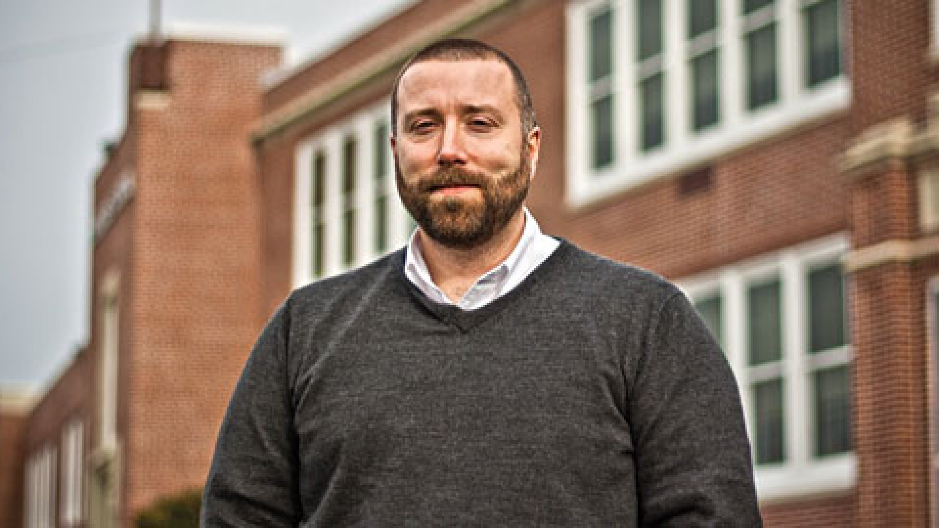 George Haines is prepping his young students for modern day careers in the technology-driven marketplace.
