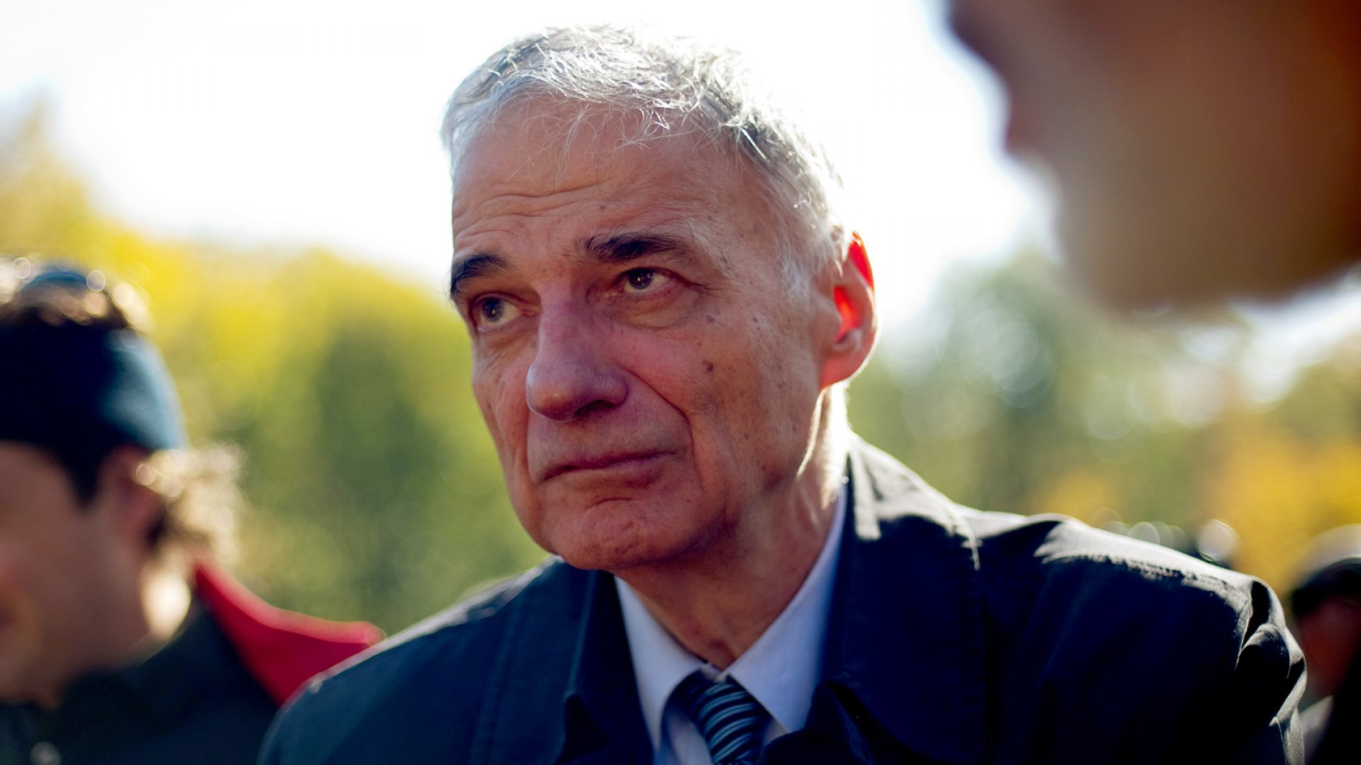 Ralph Nader on 'Simple Capitalism' and Coexisting With the Tea Party