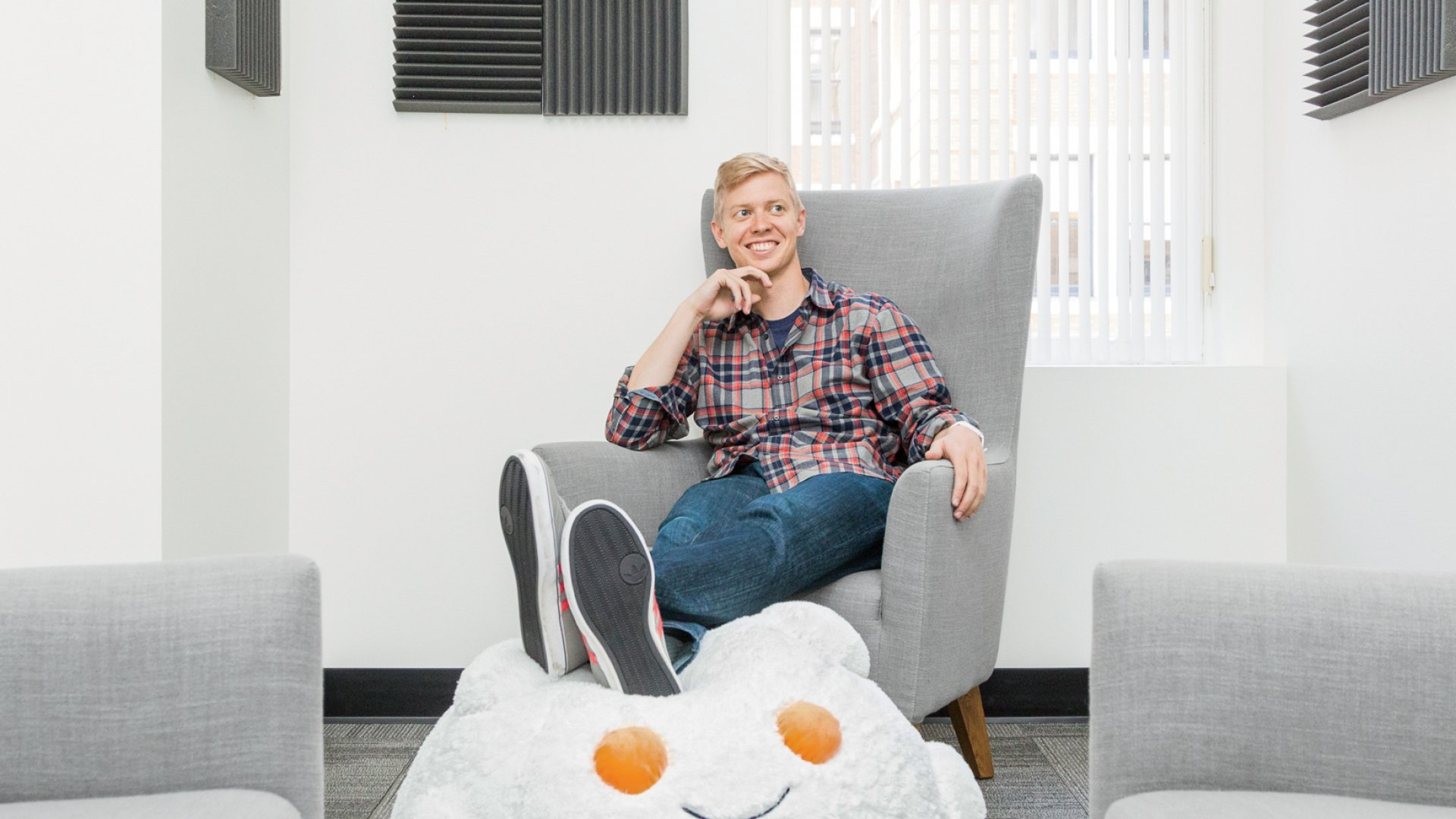 Co-founder and CEO of Reddit Steve Huffman.