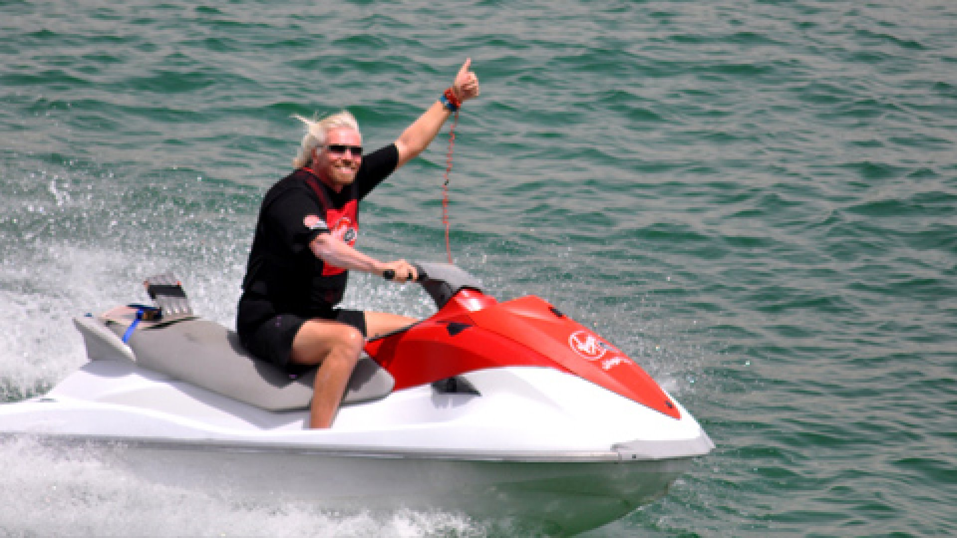 Richard Branson: You're Taking Your Business Too Seriously