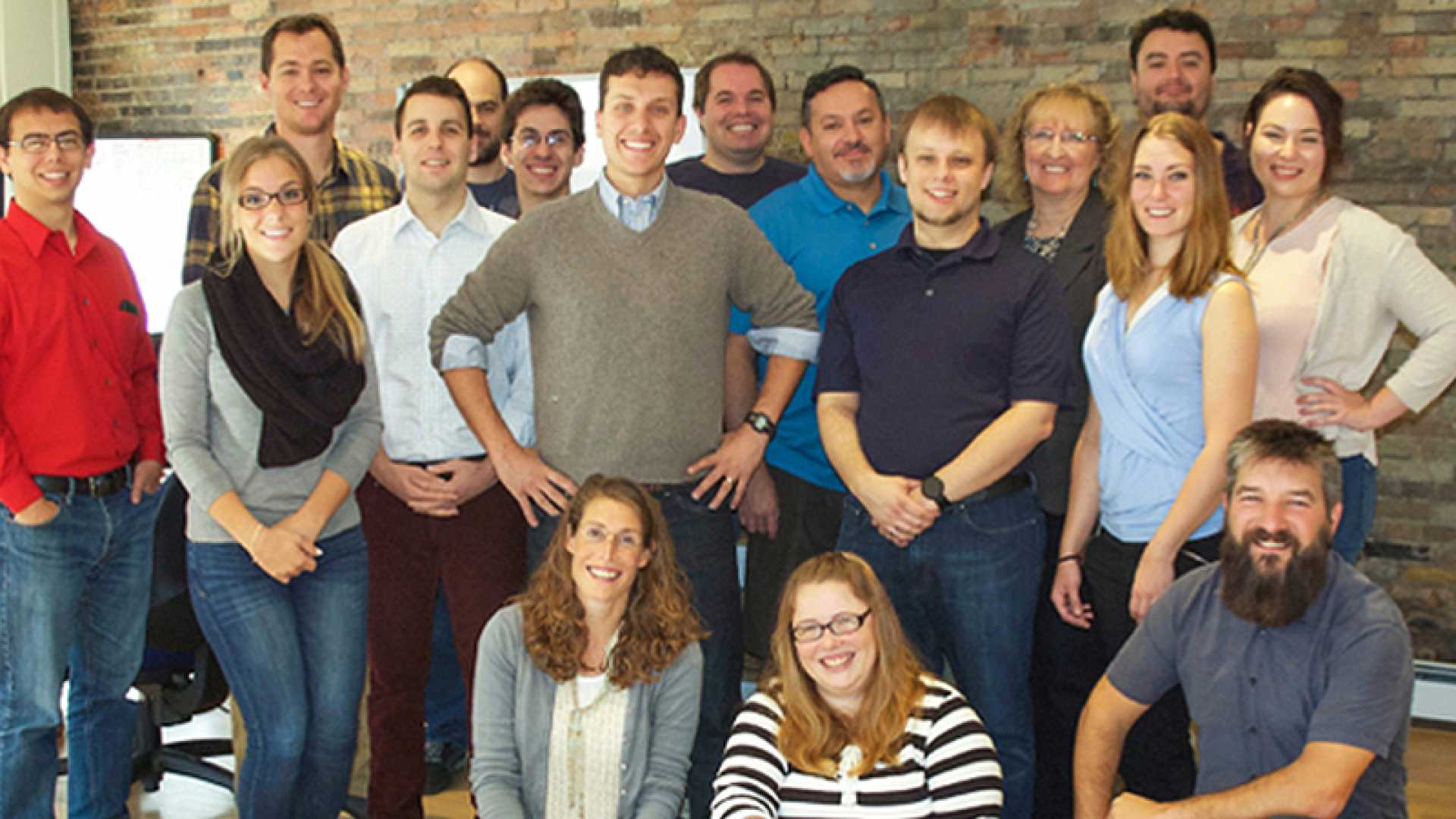 The team at e-commerce startup Rosie.