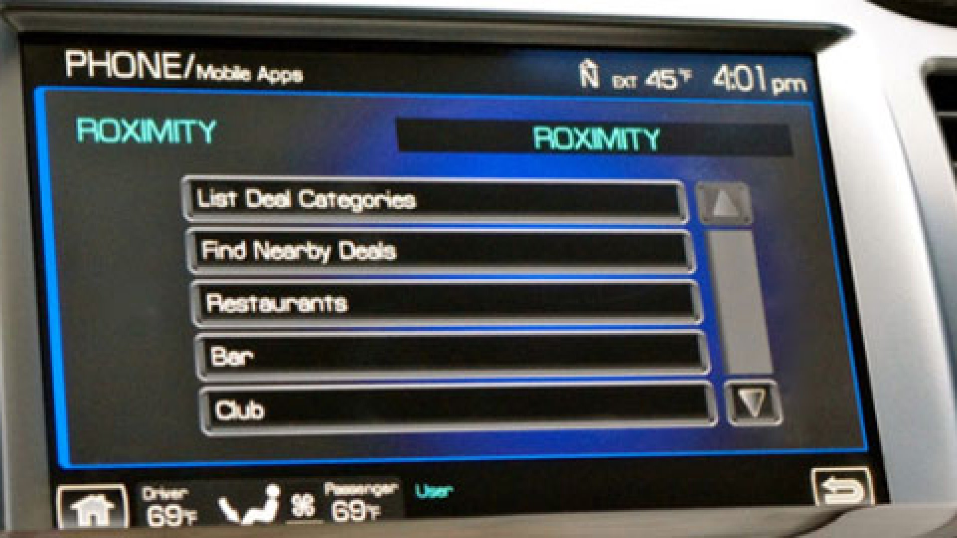 in 2012 Ford incorporated local deals app Roximity into some of its cars letting brick-and-mortar shops send coupons to customers on the go.