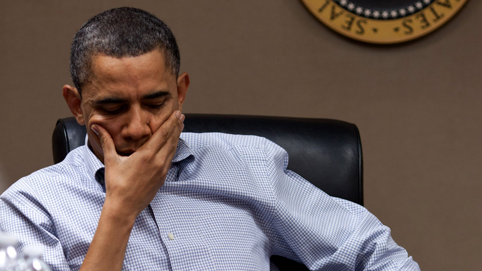 Obama Wants to Talk ... If Shutdown Is Taken Off the Table