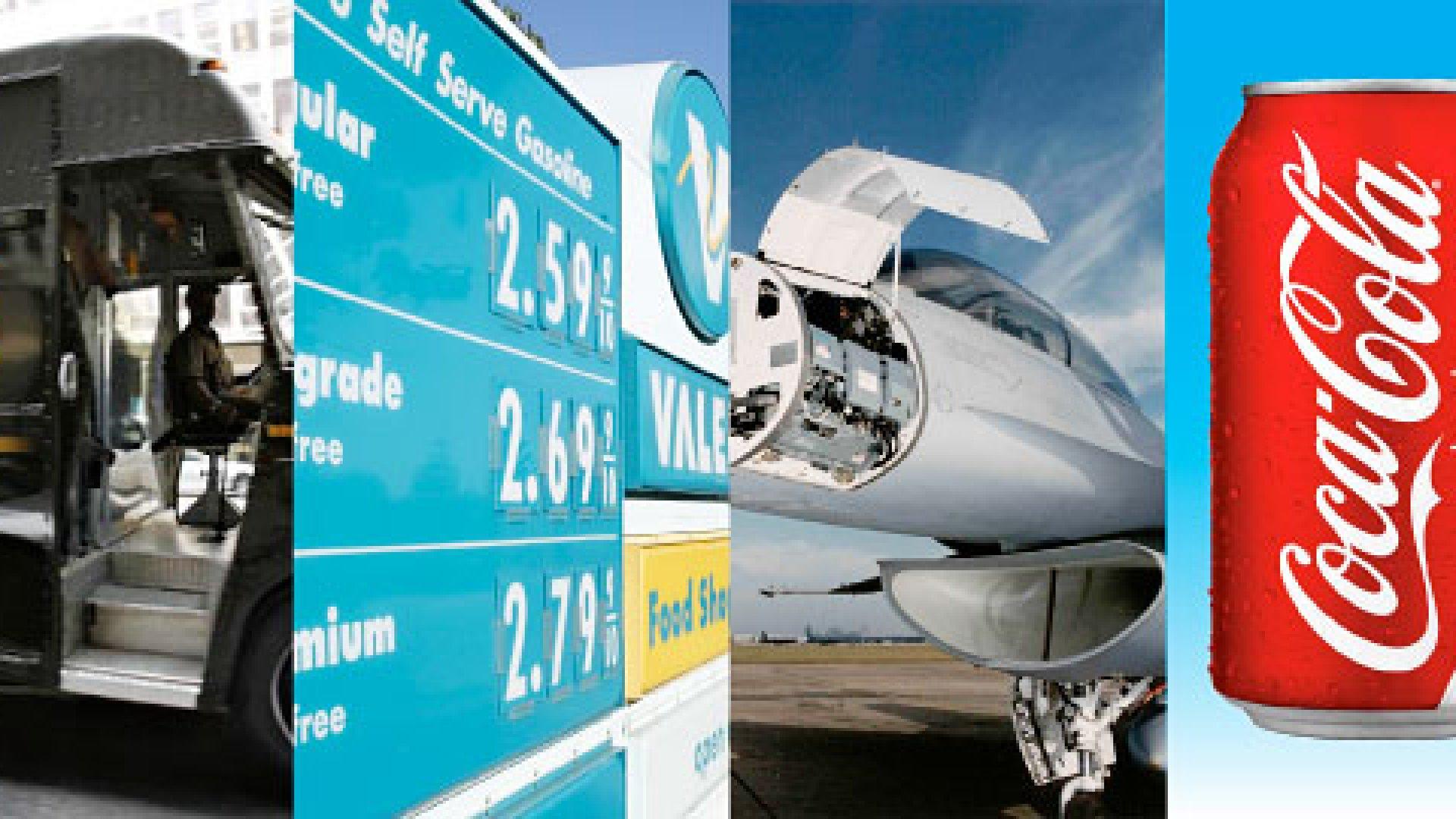 <strong>TACTICS:</strong> UPS; Valero Energy; Northrop Grumman; Coca-Cola
