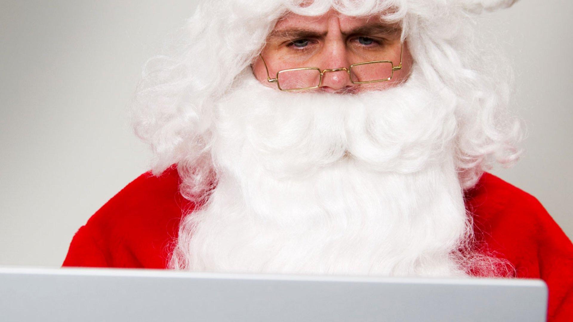 Dear Santa: 5 Business Wishes