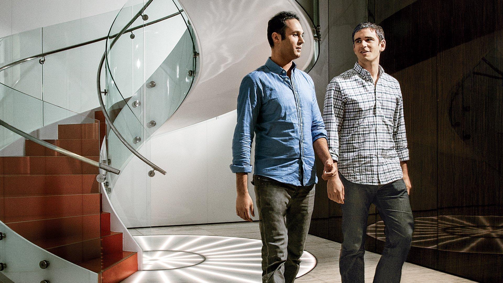 SeatGeek founders Russell D'Souza and Jack Groetzinger