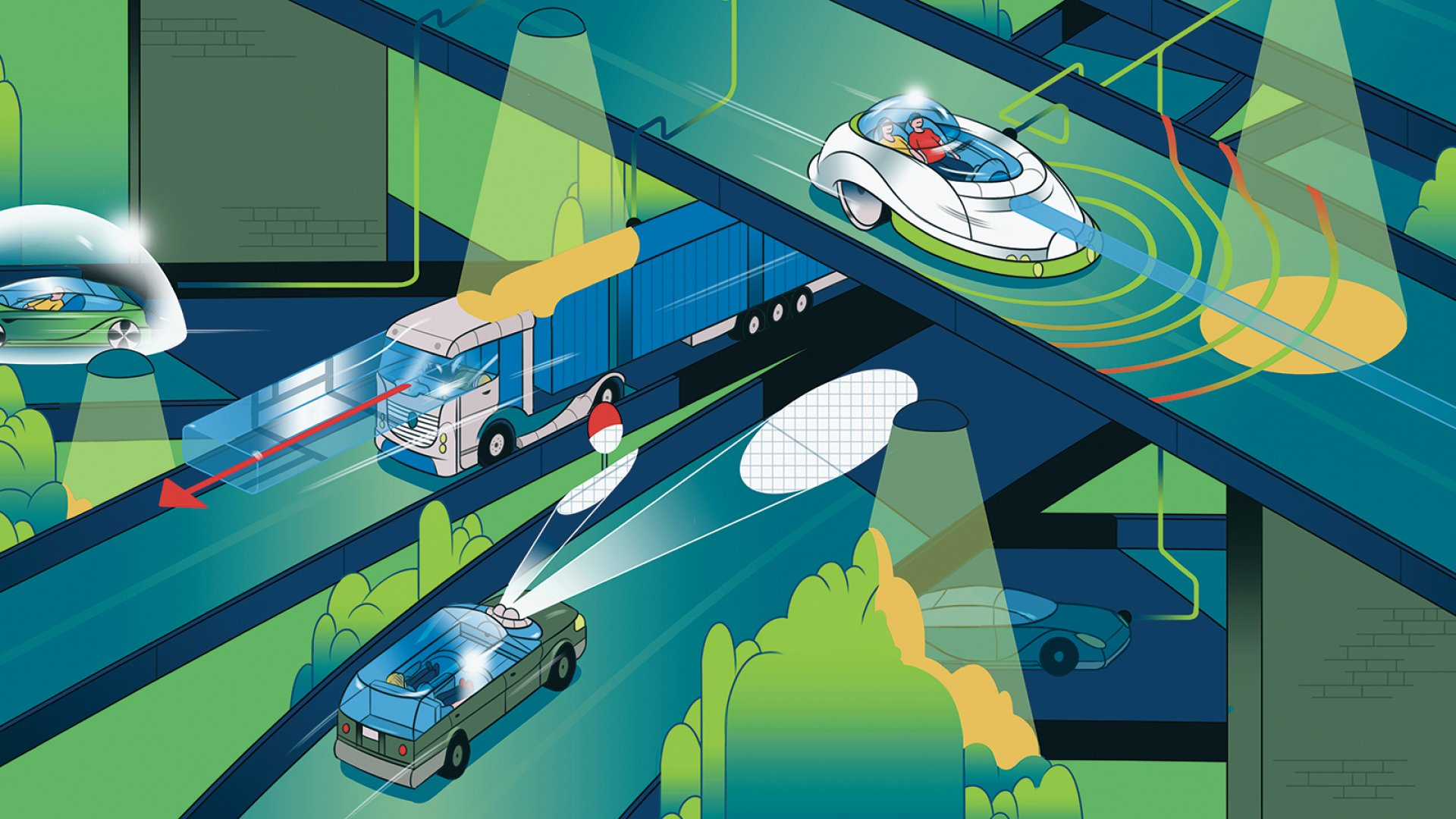 The 5 Breakthroughs Powering the Self-Driving Car Boom
