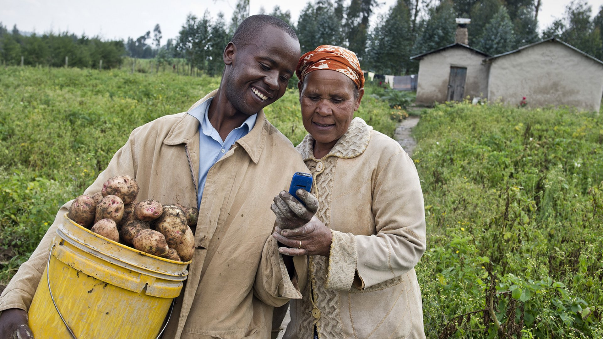 Founded in 2010, M-Farm gives Kenyan farmers access to real-time market prices, and also lets them buy and sell crops, at the touch of a mobile button.