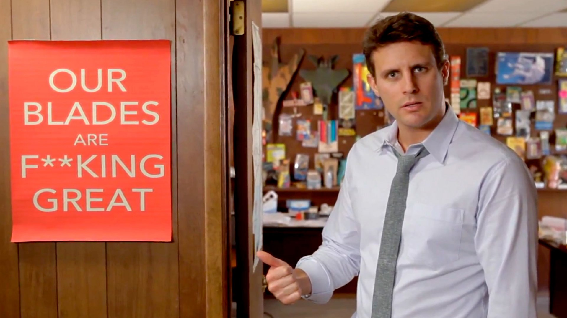 How Improv Helped a Dollar Shave Club Founder Sell His Startup for $1 Billion