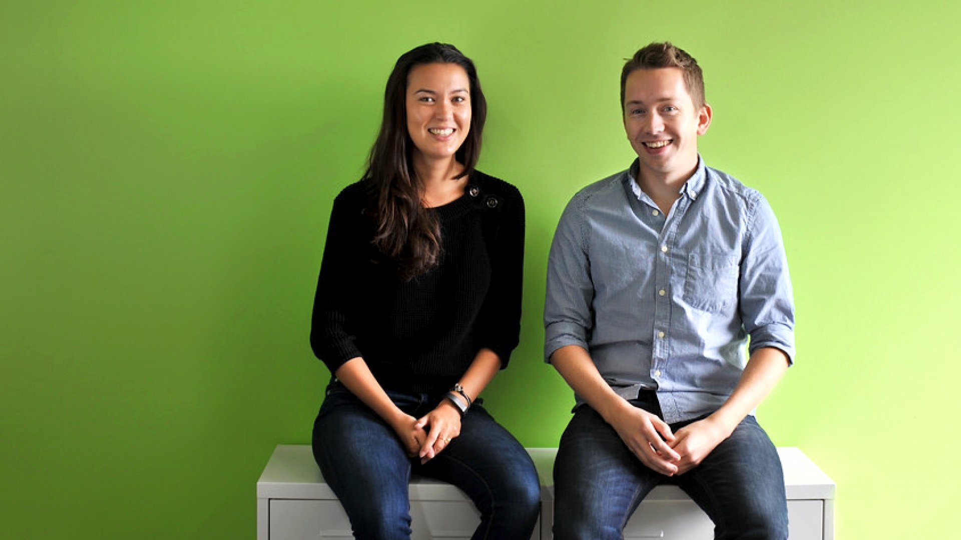 Shippo co-founders Laura Behrens Wu and Simon Kreuz.