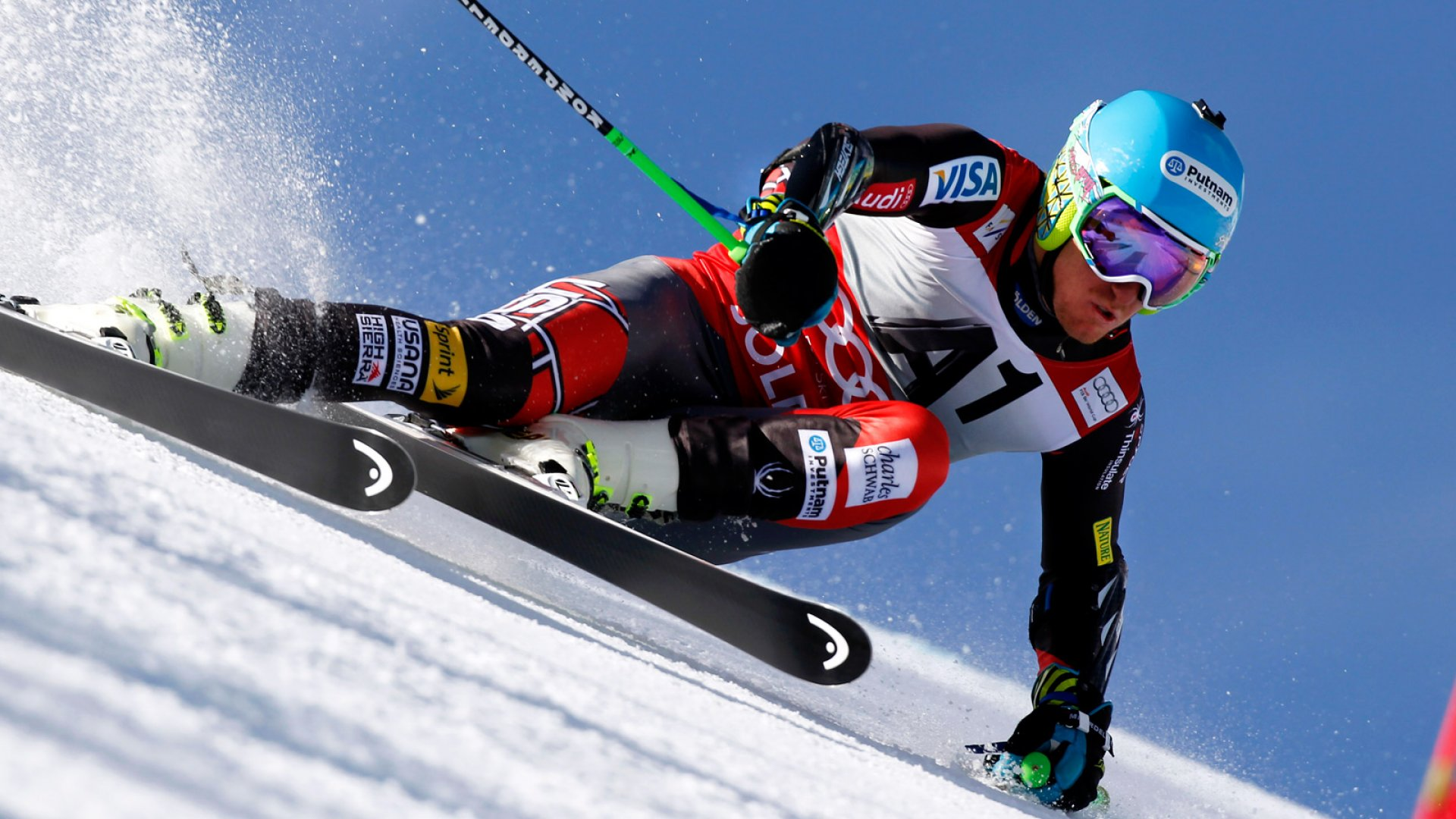 Olympic Skier Ted Ligety's Other Job: Entrepreneur