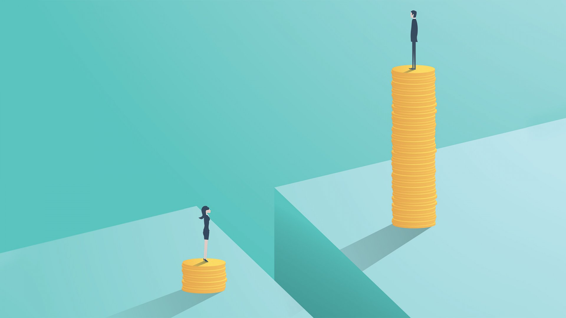 More Bad News on the Gender Pay Gap: The More Women Make, the Wider It Gets