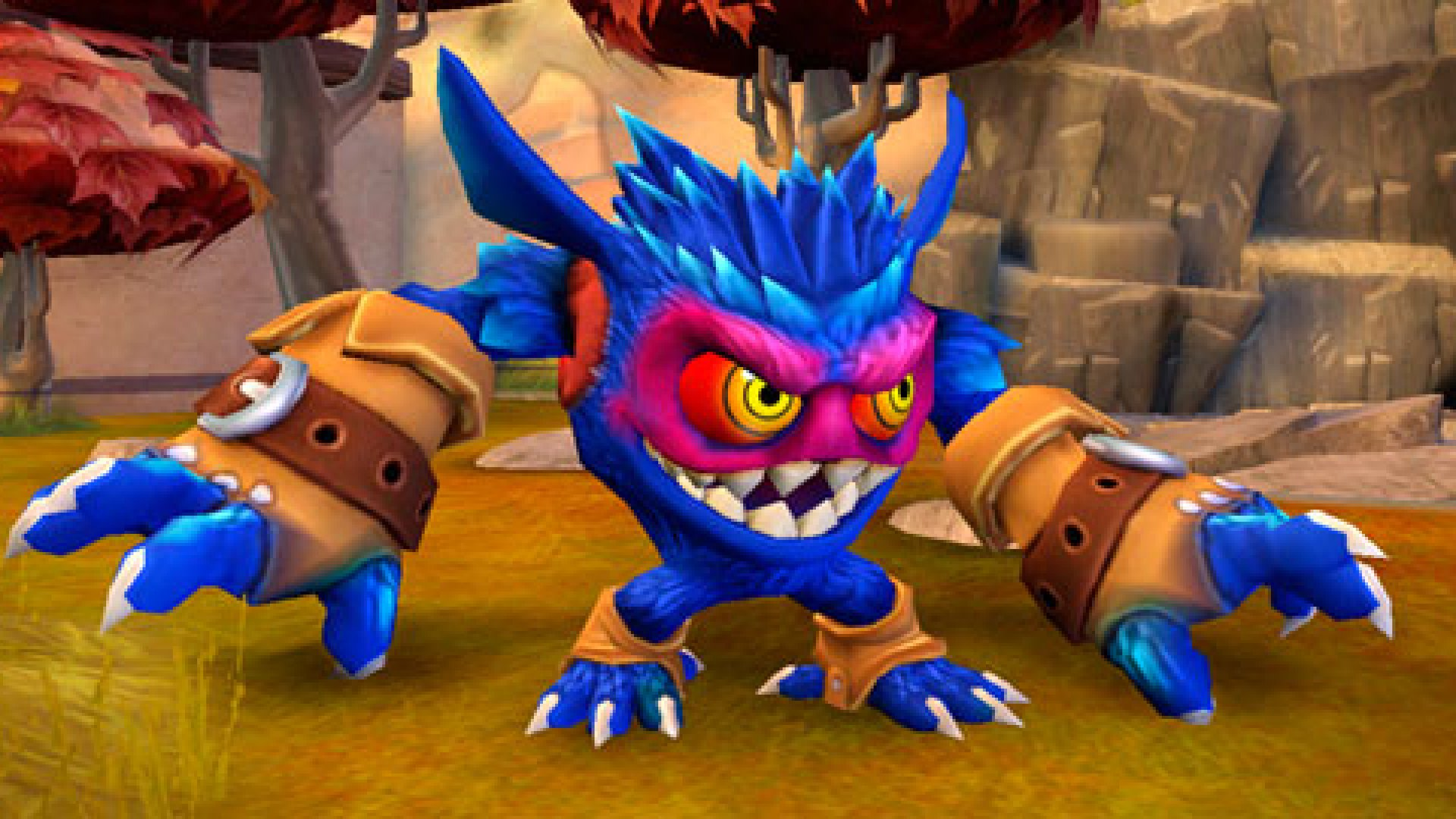 """A scene from one of Activision's hit games, """"Skylanders."""""""