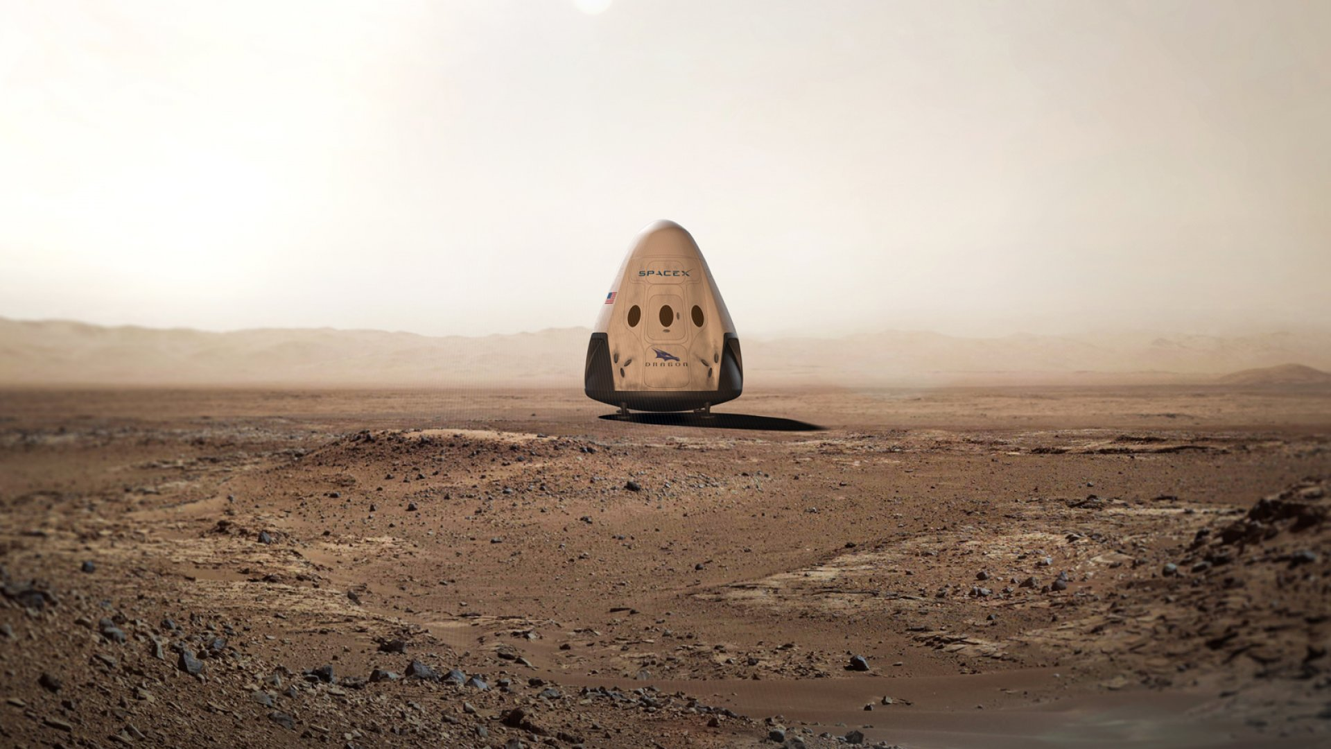 SpaceX and NASA are hoping to send the Red Dragon 2 capsule to the Red Planet by 2018.