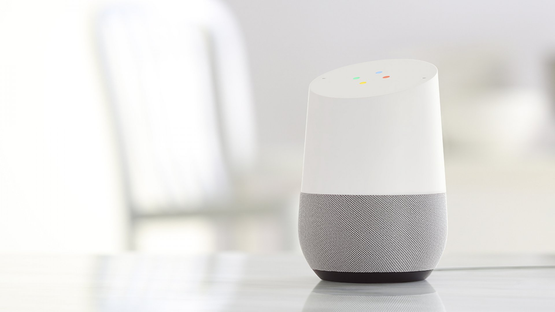 You can talk to the Google Home speaker all day, everyday.
