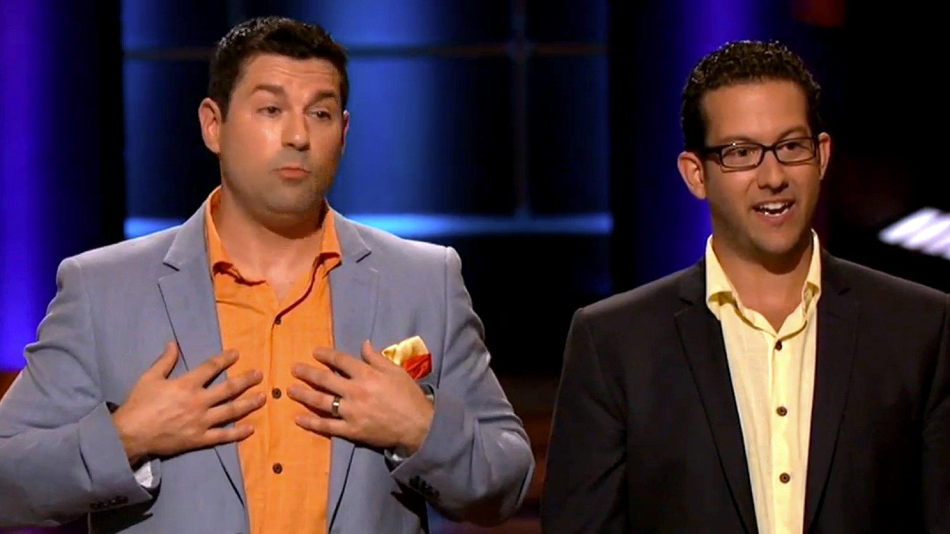 Sunscreen Mist Founder and President Tony Fayne (left) and CEO Josh Kaplan