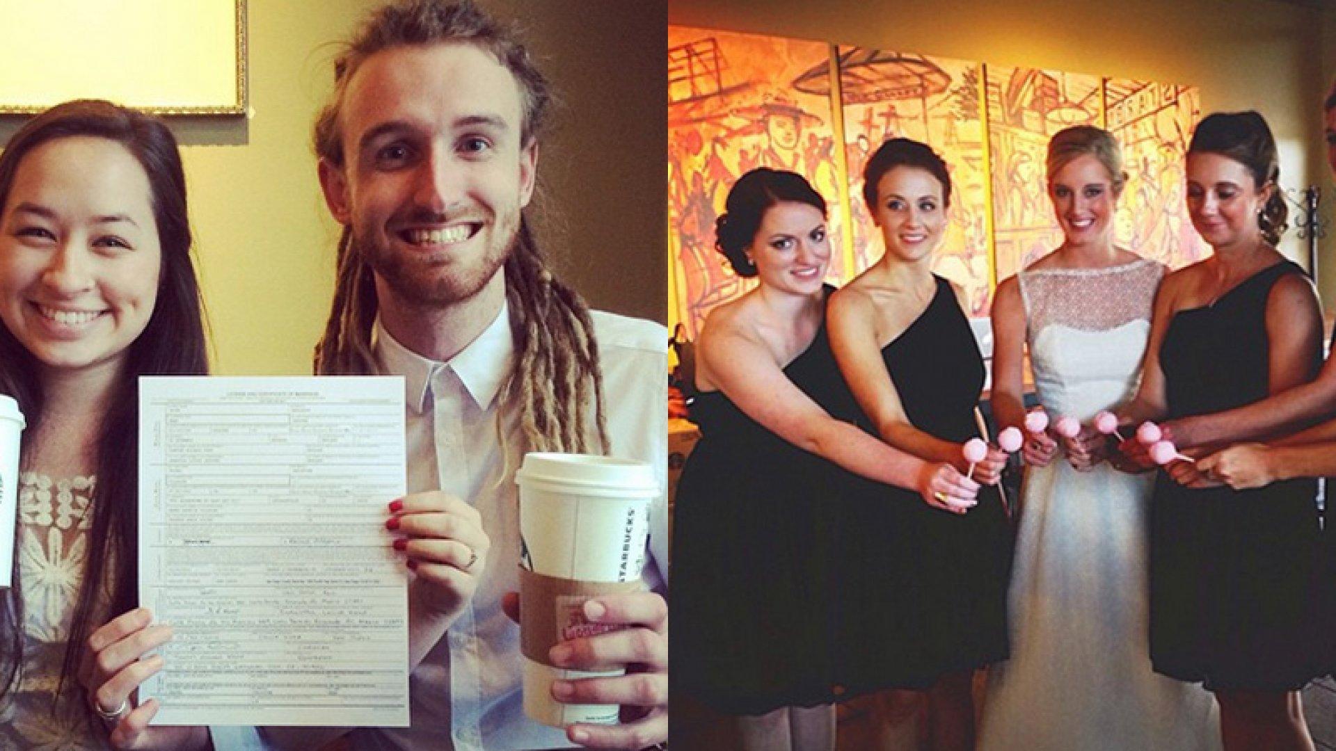 The Marketing Genius Behind #StarbucksWeddings