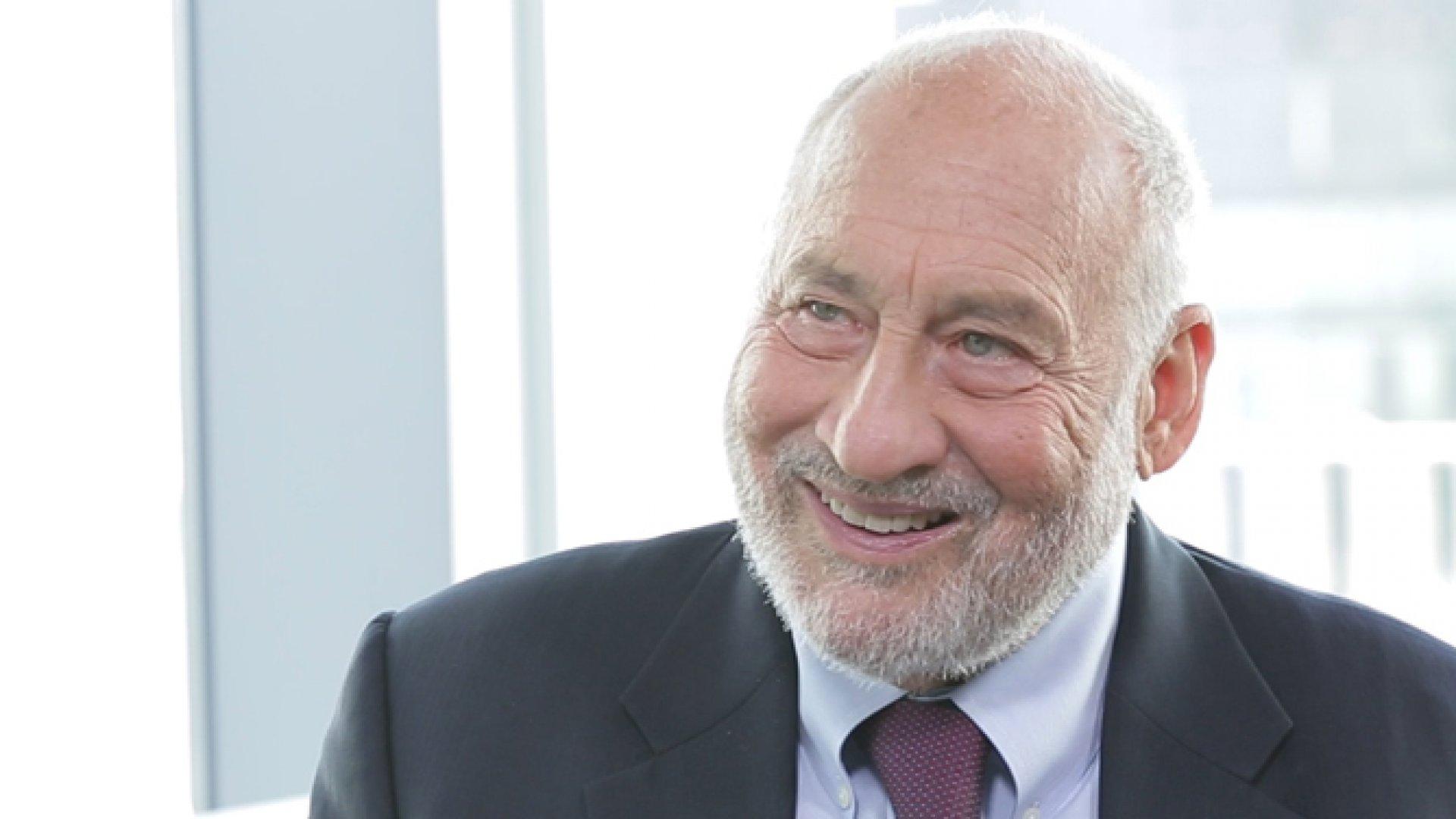 Joseph Stiglitz is a Nobel Prize-winning economist.