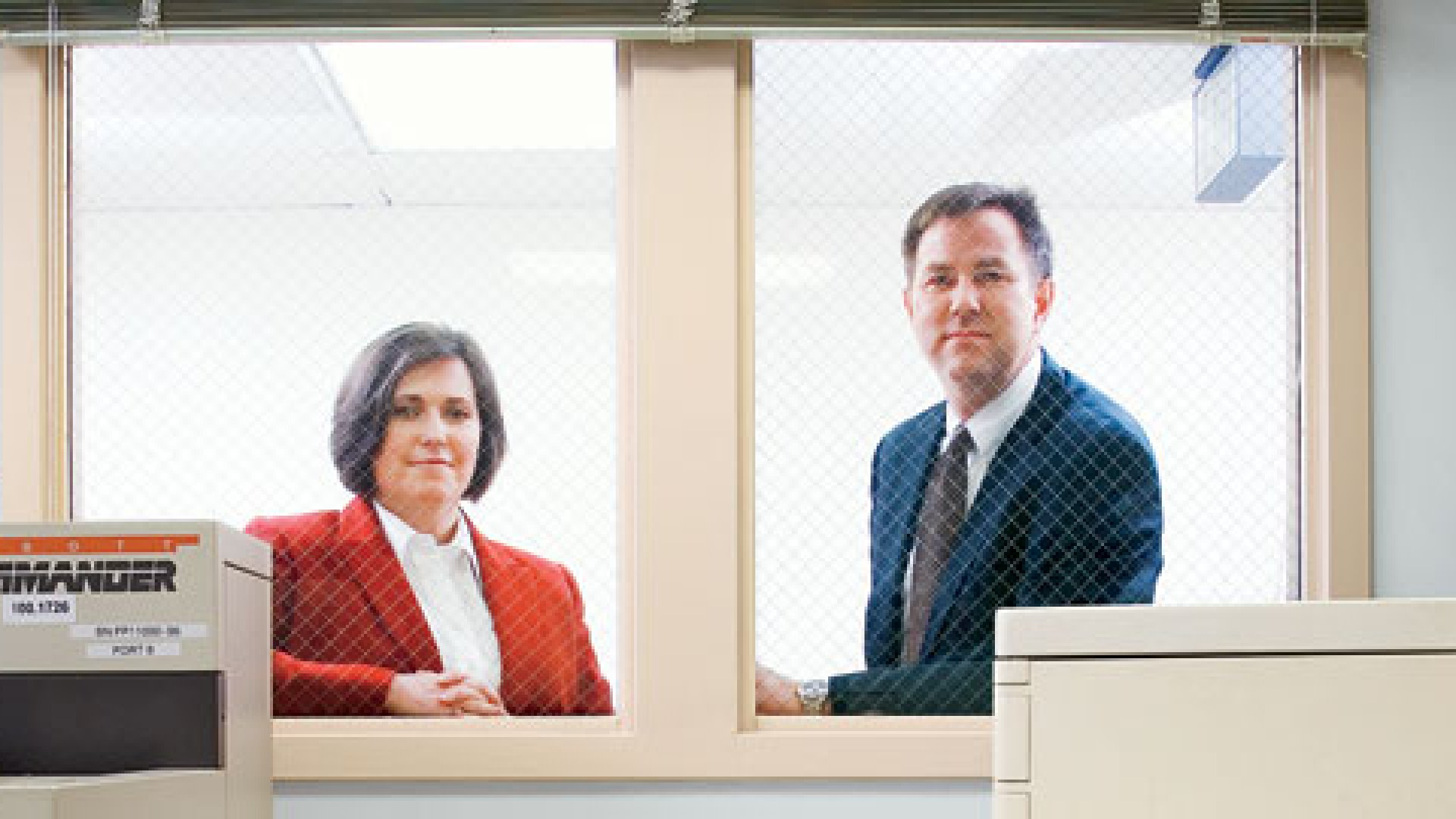 <strong>THE CURE?</strong> Kerrie Paige and Jaret Hauge's software helped the American Red Cross turn around blood-test results faster -- and more cheaply. Can it do the same for the rest of the health care industry?