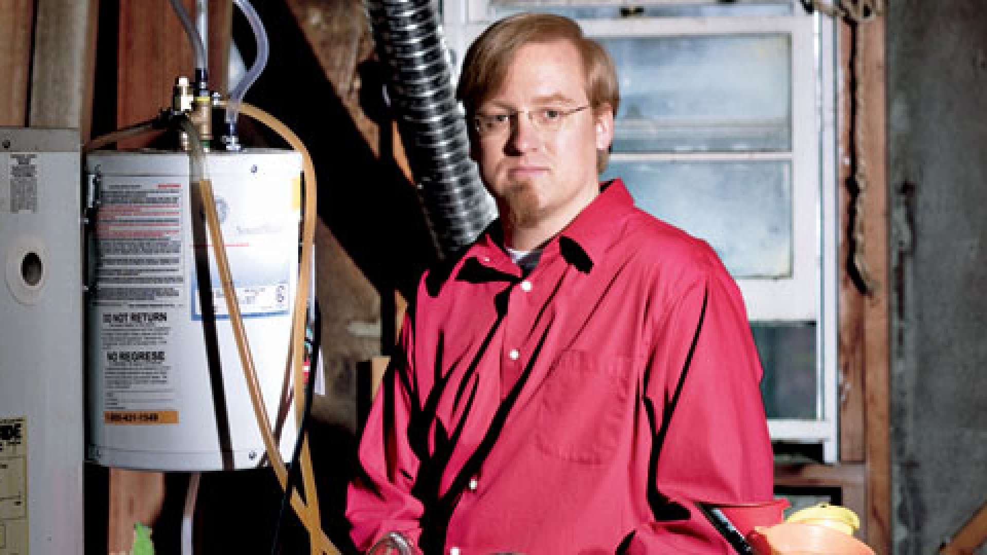 <strong>GREASE LIGHTNING</strong> James Peret says he and his partners are ready to go into production on their fryer-oil-powered generator.