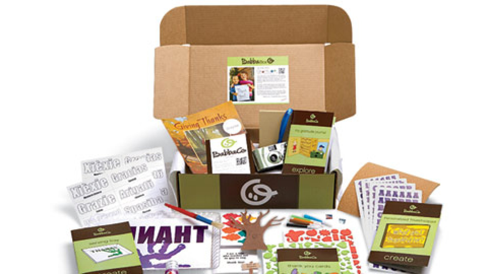 <b>Playtime in a box</b> BabbaBox delivers a box full of kid-friendly activities each month.