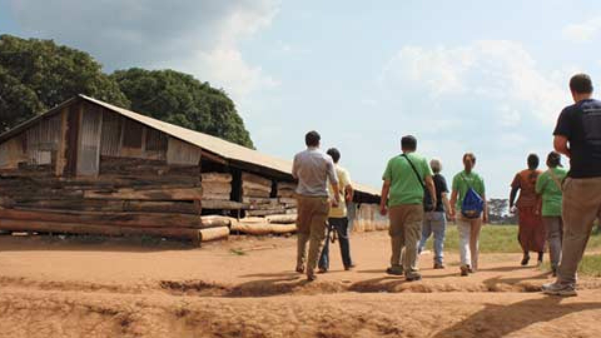 <b>Journey to Africa</b> Last summer, a group of employees from Better World Books visited a temporary classroom in Gulu, Uganda.