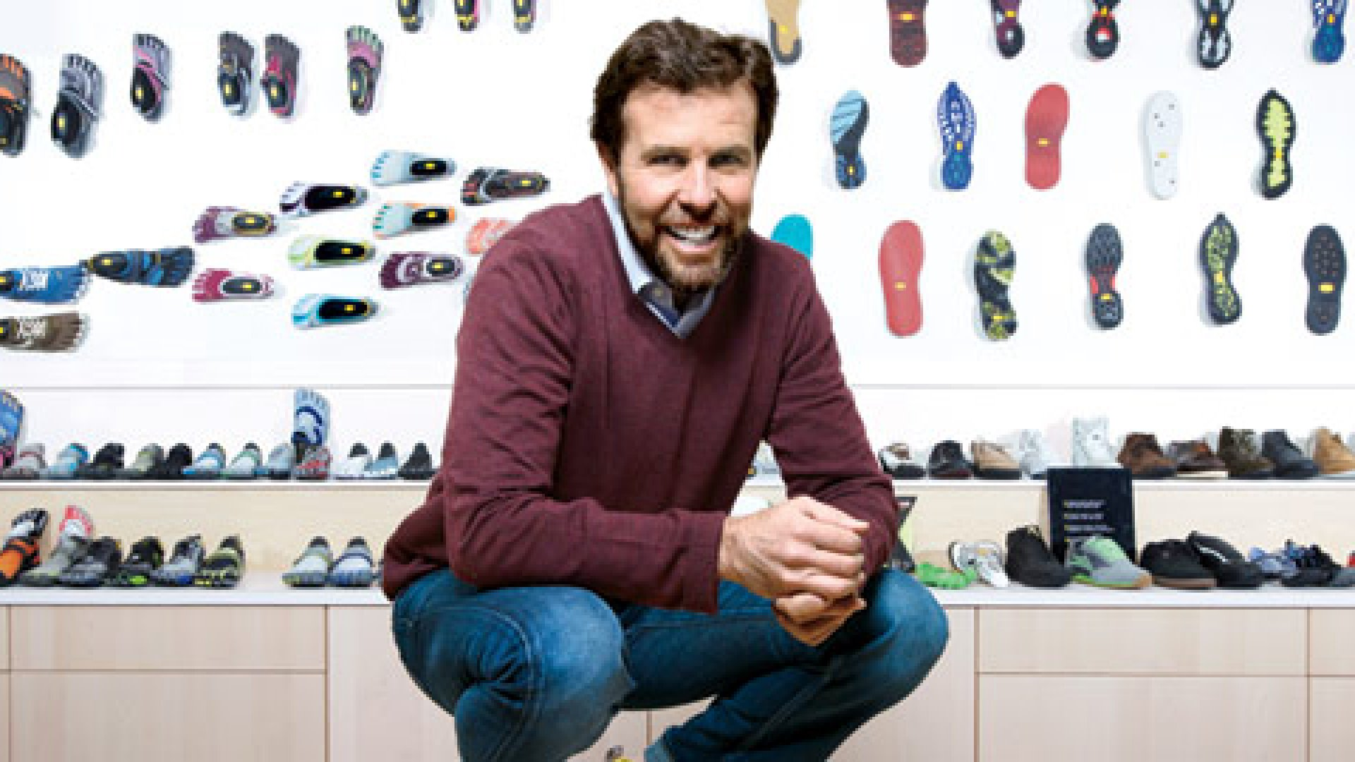 <b>The Real Thing</b> Tony Post was inundated by fake FiveFingers.