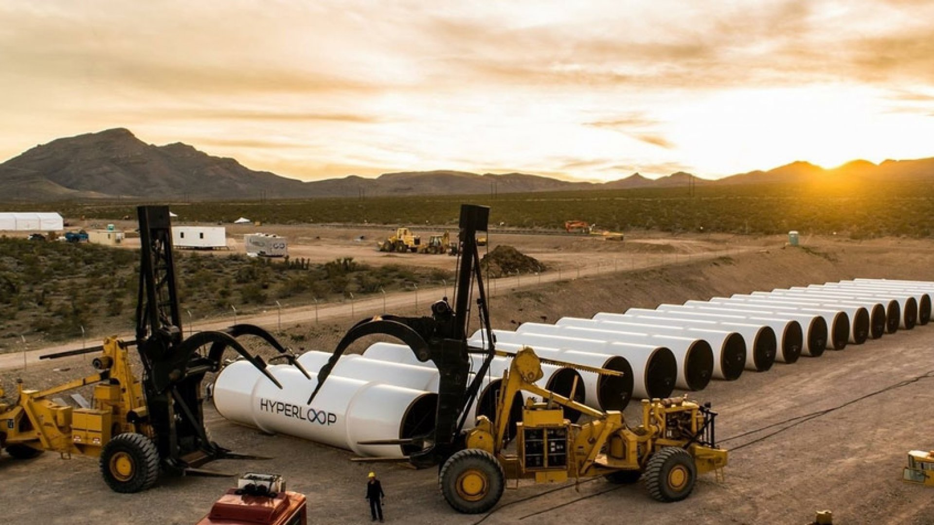 The Hyperloop Just Completed Its First Test Run--and Raised $80 Million