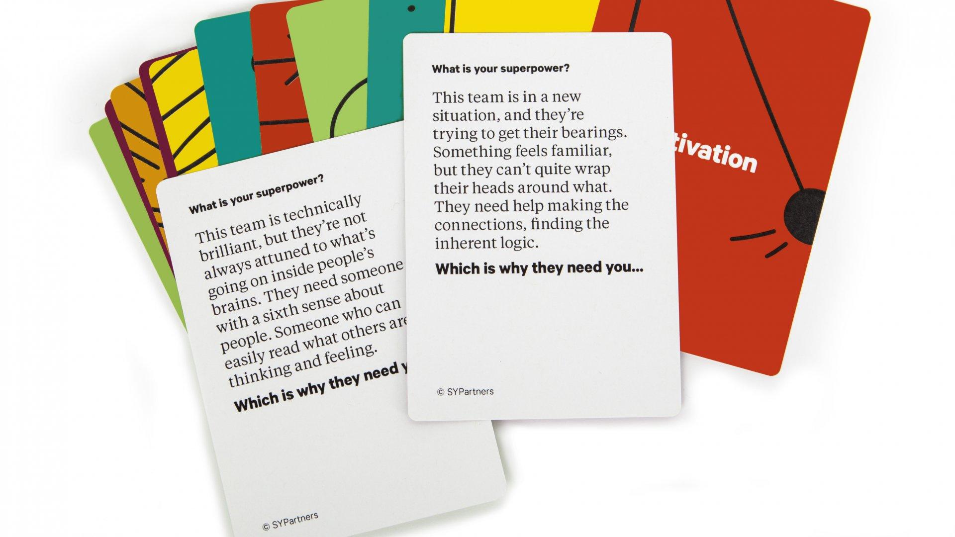Unstuck Superpower Cards