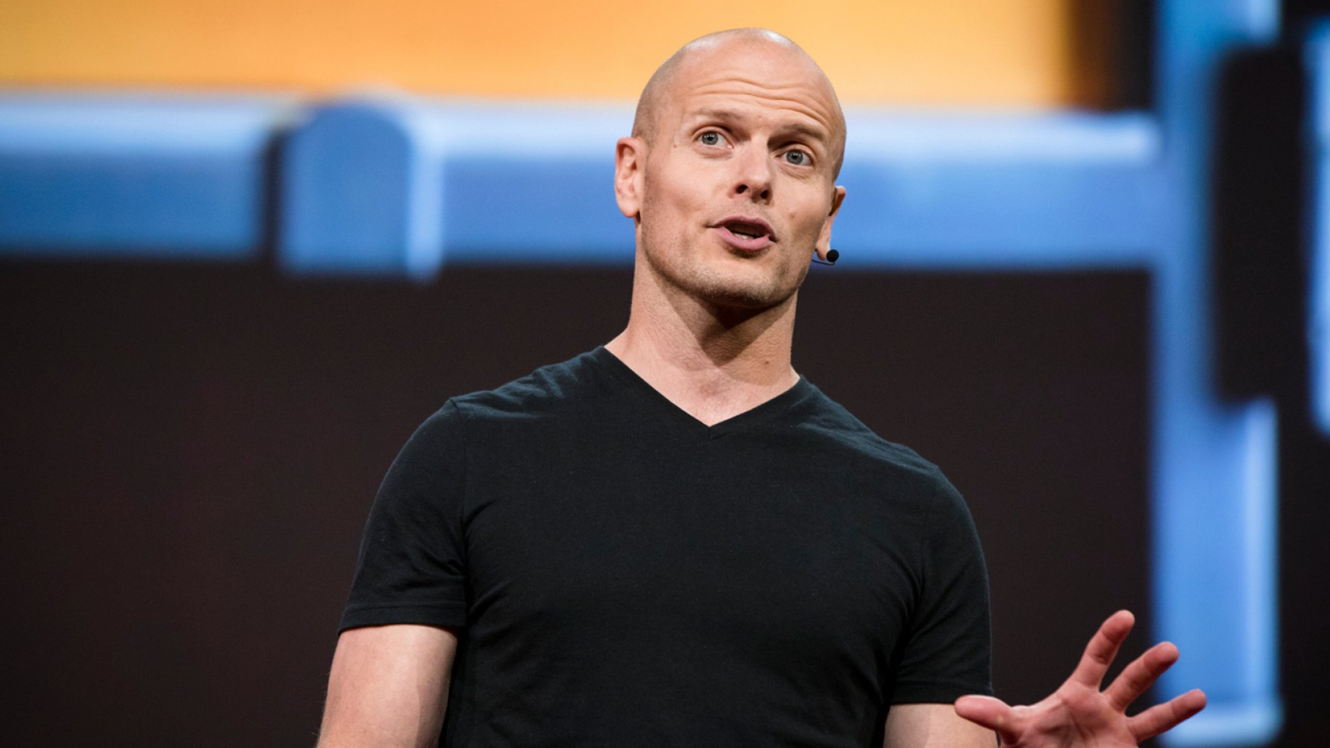Tim Ferriss speaks at TED2017.