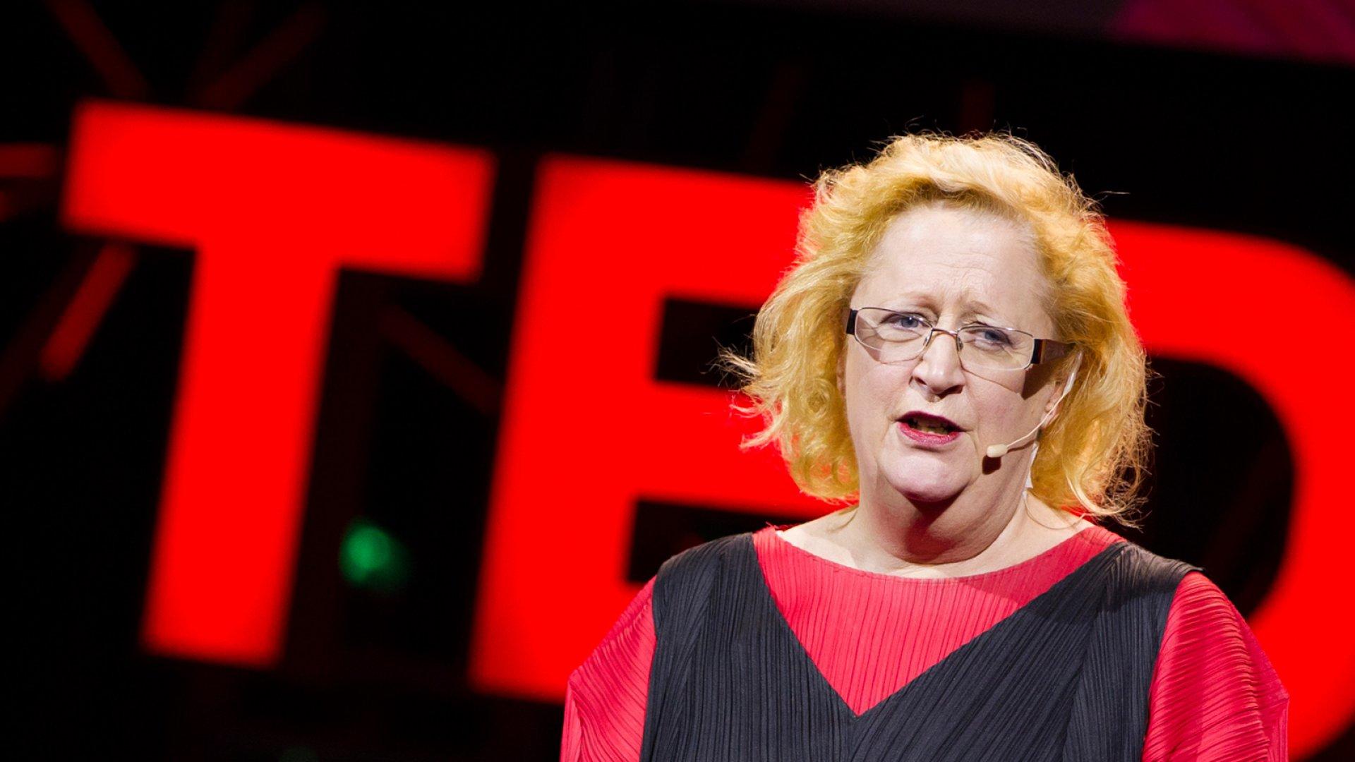 Margaret Heffernan, management thinker, speaks during Session 12: Public Sphere, at TEDGlobal 2012 on Friday, June 29, in Edinburgh, Scotland.