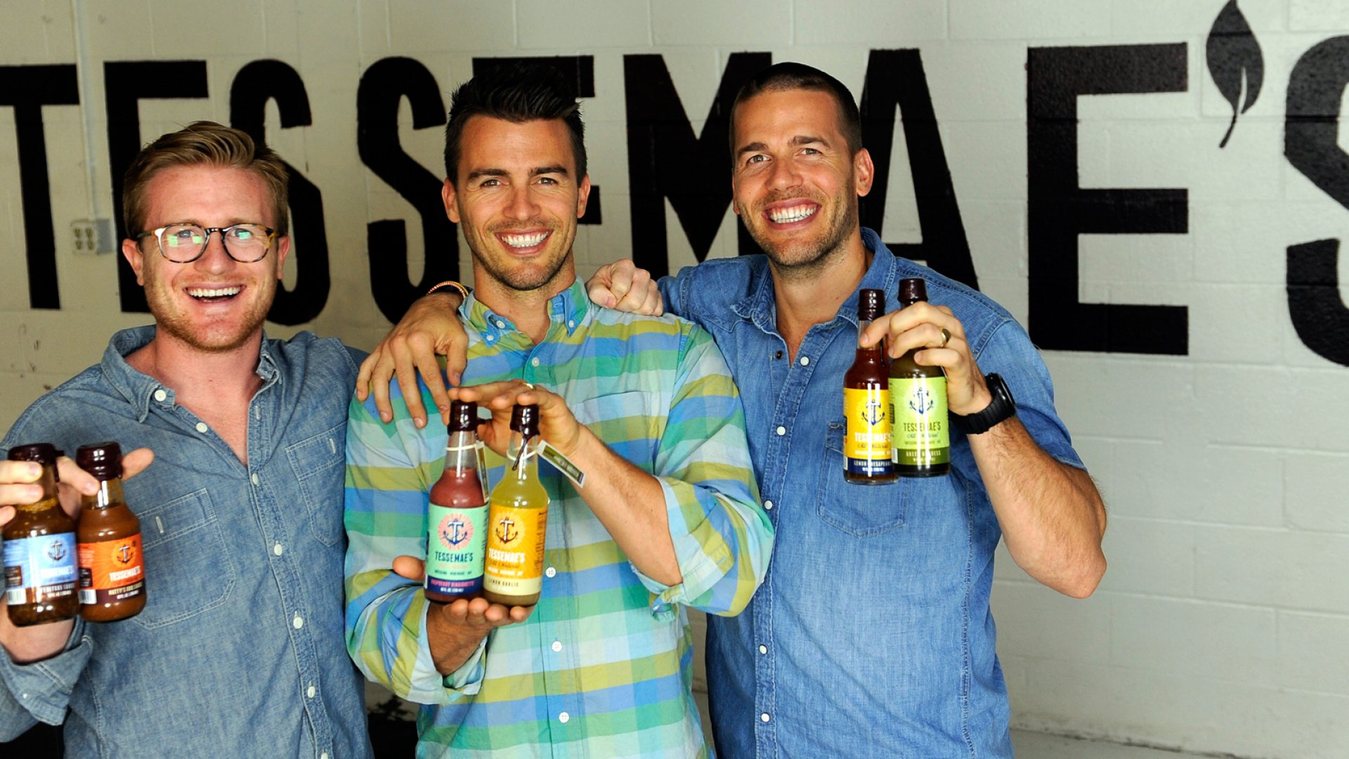 Matthew Vetter, Brian Vetter, and Greg Vetter are dressed for success. They took their mom's salad-dressing recipe and turned it into a multimillion-dollar business and a top seller at Whole Foods.