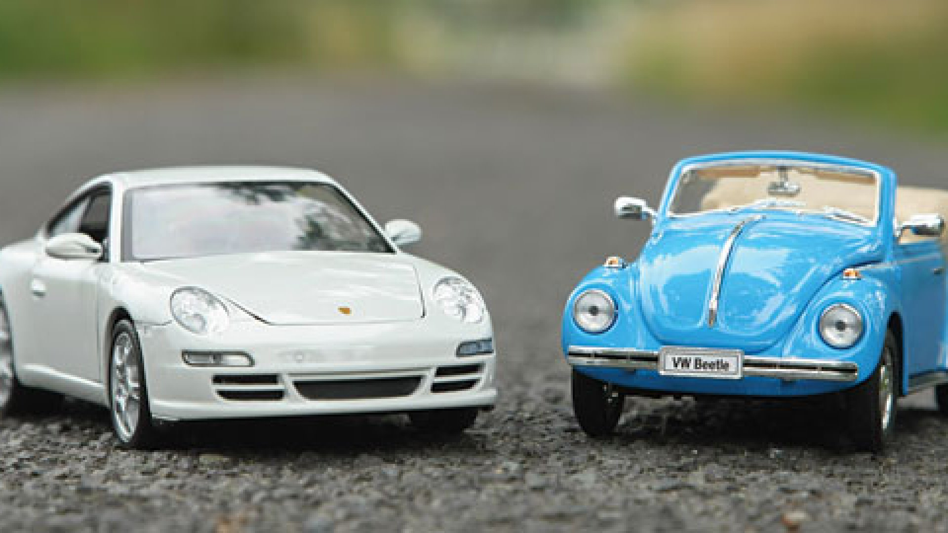 Is your partner a Porsche while you're a bit more subdued?