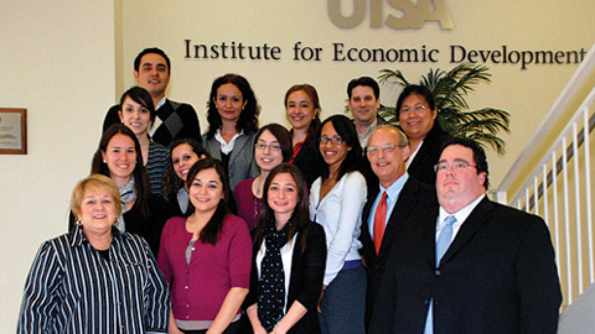 <strong>Polyglot:</strong> The staff of the International Trade Center serves all chapters in the South-West Texas Border SBDC network and employs staffers from China, Mexico, Uruguay, Spain and Argentina.