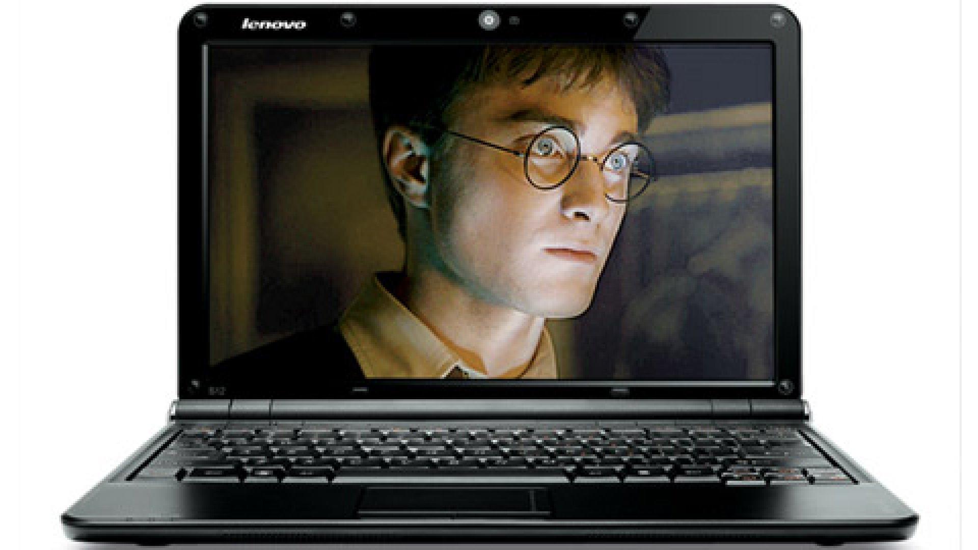 Lenovo, netbook, computer, harry potter